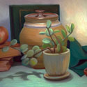 Still Life with Succulant